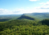 The Shawangunk Ridge near the Hudson Valley