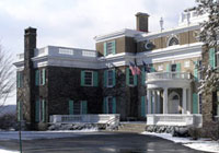 Springwood was the former home of President Franklin D. Roosevelt