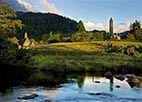 Glendalough, a glacial valley in County Wicklow, Ireland