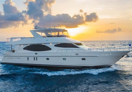 Inspirato's new luxury yacht, Irresistible