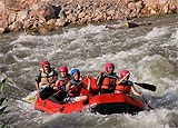 A rafting trip down the Jordan River