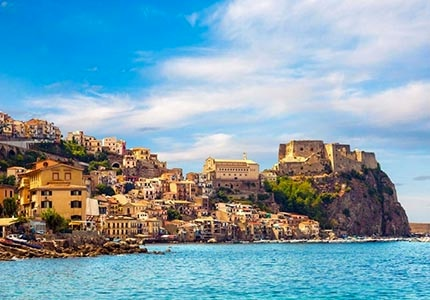 Scilla, a fabled fishing village in Italy
