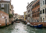 A water canal in Italy