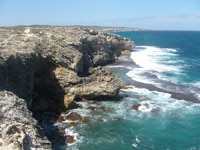 Kangaroo Island cliffs in Australia