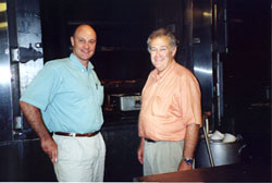 Alain Gayot with Jack Fiorella