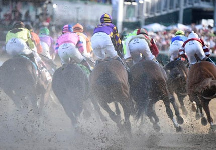 The Kentucky Derby in Louisville, Kentucky