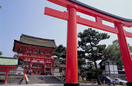 The Grand Shinto Shrine Fushimi Inari Taisha