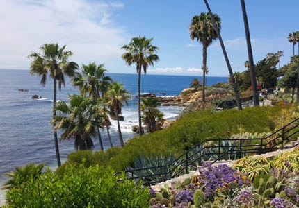 Take in the scenery at Laguna Heisler Park in Laguna Beach, California