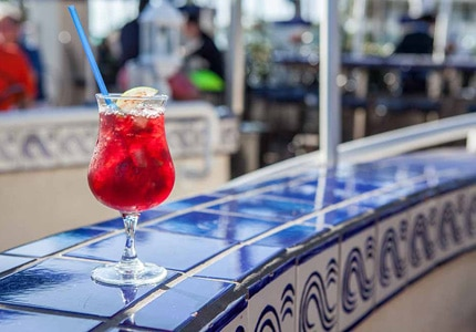 Sip on a cocktail at Las Brisas restaurant in Laguna Beach, California