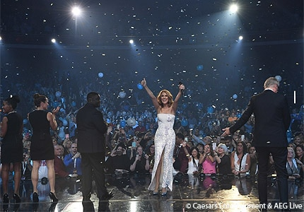 Celine Dion celebrates 1,000 shows at the Colosseum at Caesars Palace in Las Vegas