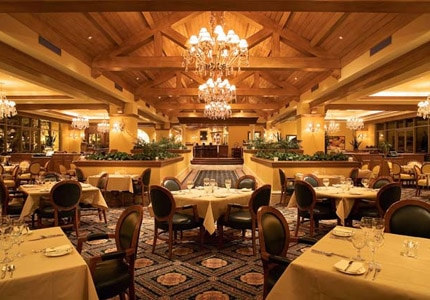 The dining room of Ceres at JW Marriott Las Vegas Resort in Nevada