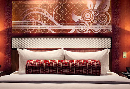 A room at Hotel32, one of our Top 10 Boutique Hotels in Las Vegas