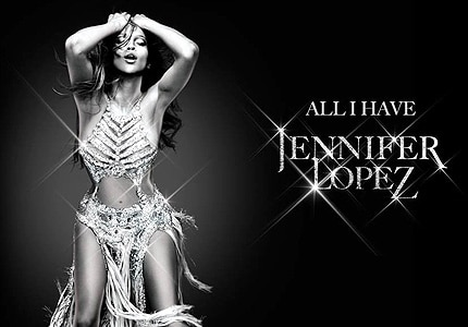 "J Lo's ""All I Have,"" one of GAYOT's featured shows in Las Vegas"