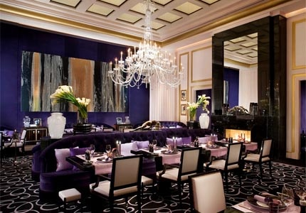 Joël Robuchon dining room in Las Vegas