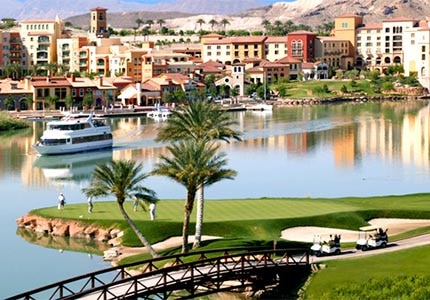 Lake Las Vegas offers visitors a wealth of recreational activities