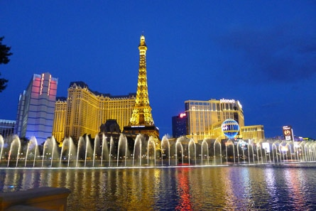 Bellagio Fountains in Las Vegas