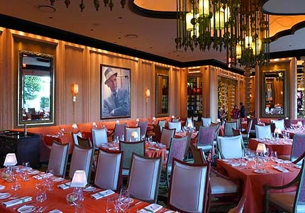 The dining room at Encore Las Vegas in Nevada