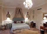 A guest room at the Draycott Hotel in London