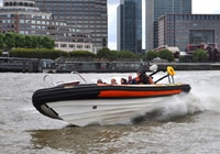 RIB Tours cover all of London's major attractions along the Thames