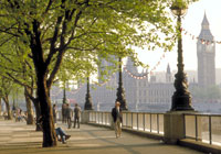 Beautiful South Bank in the heart of London