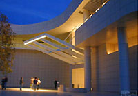 The Richard Meier-designed Getty Center