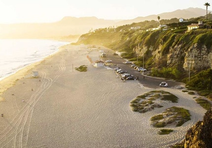 Westward Beach in Malibu, California