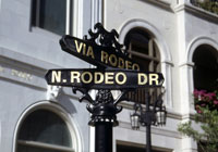 One of the most famous streets in the world, Rodeo Drive captures the spirit of Beverly Hills