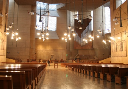 Inside the Cathedral of Our City of the Angels