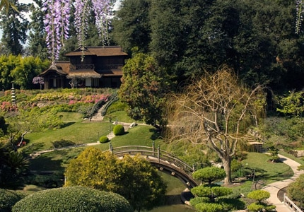 The Japanese Garden at The Huntington Library, Art Collection and Botanical Gardens in Pasadena, California