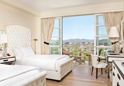 A Premium Beverly Hills View Double at Mr. C Beverly Hills in Los Angeles