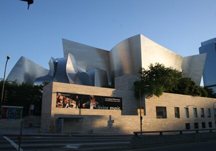 The Walt Disney Concert Hall in Los Angeles, California