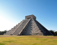 Less famous than their counterparts in Egypt but just as striking: the 1,500-year-old Chichen Itza pyramids in Mexico