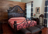 A guest room at Hotel Boutique Hacienda del Gobernador in Colima
