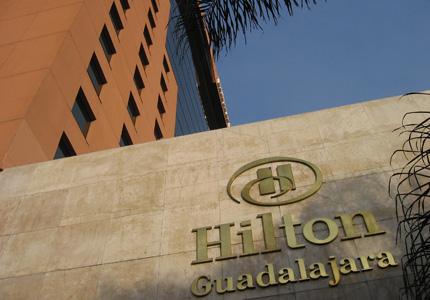 Hilton Guadalajara has 450 guestrooms