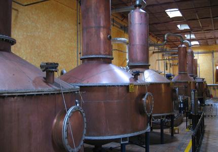 Mundo Cuervo's La Rojeña Distillery in Jalisco, Mexico