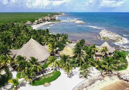 Maya Tulum Spa Resort, one of GAYOT's Top 10 Health Retreats Worldwide
