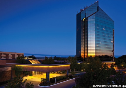 Grand Traverse Resort and Spa in Michigan is a great place for meetings year-round