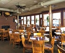 The dining room of Rose's on Reeds Lake in Grand Rapids, Michigan