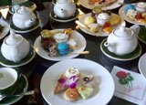 The Grand Hotel in Mackinac Island, Michigan serves afternoon tea daily