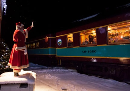 Travel with the Grenada Railway to the North Pole aboard the Polar Express