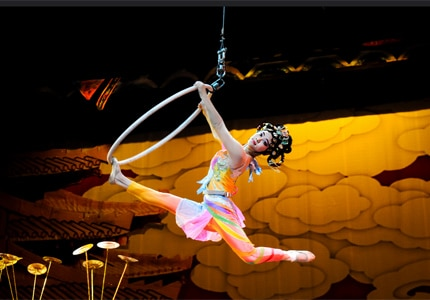 The Acrobats of China show in Branson, Missouri