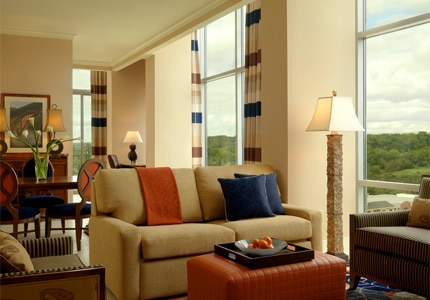 The Presidential Suite at the Hilton Convention Center Hotel in Branson, Missouri