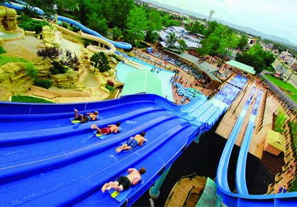 White Water water park in Branson, Missouri