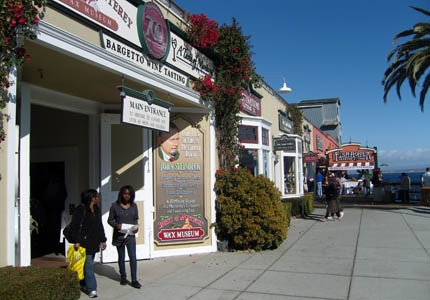 Cannery Row in Monterey, California has many attractions for visitors