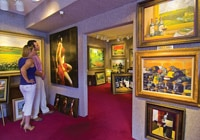 Art gallery in Carmel