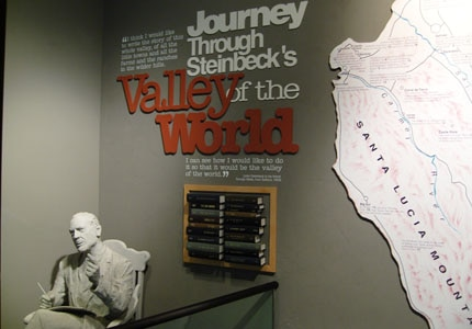 Inside the National Steinbeck Center in Oldtown Salinas, California
