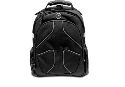 The MyGoFlight Flight Bag PLC Pro is made out of water-resistant material and has a durable ballistic nylon exterior