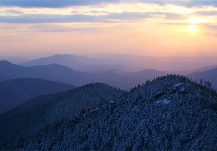 A view of Great Smoky Mountain National Park, one of GAYOT's Top 10 U.S. National Parks