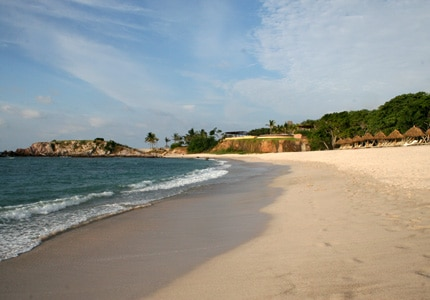 Take a walk on the gorgeous sandy beaches of Punta Mita in Nayarit, Mexico