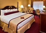 A Deluxe King Room at White Mountain Hotel